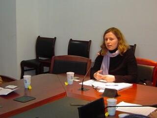 挪威学者Stina Torjesen学术座谈会