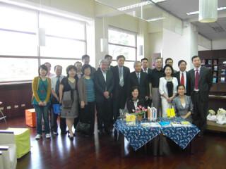 国际关系与地区发展研究院组团访问台湾高校