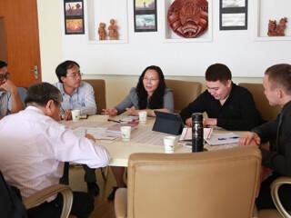 哈萨克斯坦学者访问我院
