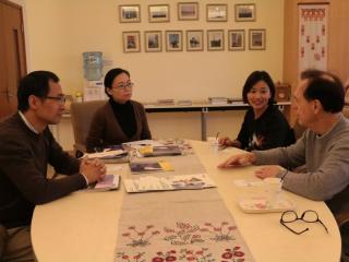 美国韦伯斯特大学上海办公室中国总监Richard Foristel一行访问我院