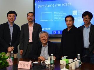 Professor Ni Shixiong Gave Talk on Sino-US Relations at SAIAS